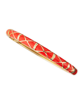 Skinny X Bangle, Orange