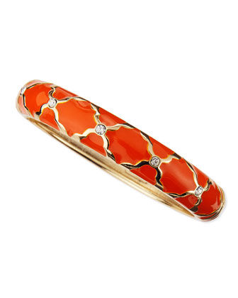 Medium X Bangle, Orange
