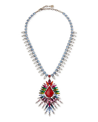 Valeria Multicolor Crystal Necklace