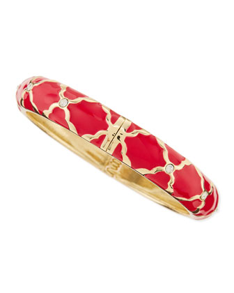 Medium X Bangle, Red