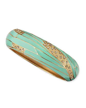 Assorted Mint Enamel Bangles