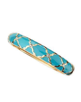 Medium X Bangle, Blue