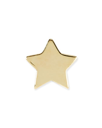 14k Gold-Plated Star Charm