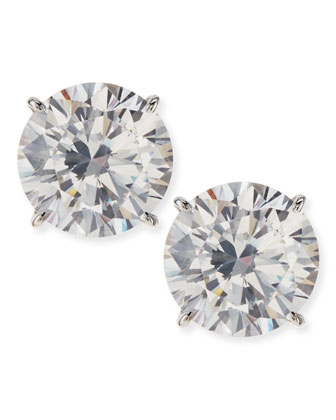 5.0 CW Cubic Zirconia Stud Earrings
