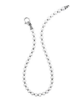 Luna 10mm Pearl Single-Strand Necklace