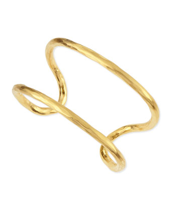 Epure 24k Gold-Plated Cuff Bracelet