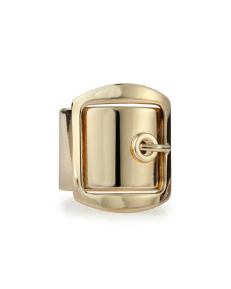 Golden Buckle Ring