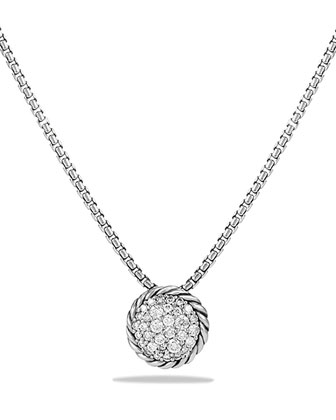 Chatelaine Pendant with Diamonds