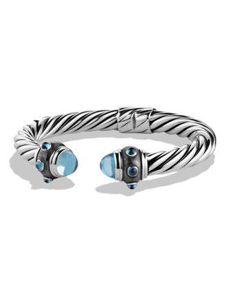 Renaissance Bracelet with Blue Topaz