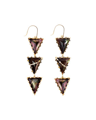 Mystiq Tri-Spike Earrings