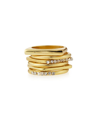 Apollo Set of Six Stackable Rings