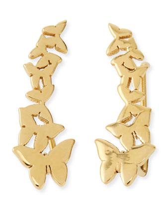 Symone Butterfly Earring Cuffs