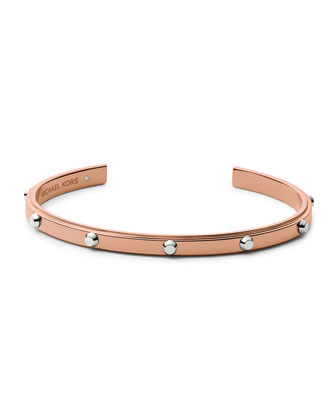 Astor Open Cuff, Two-Tone