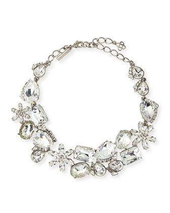 Clear Multi-Crystal Necklace