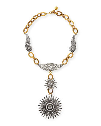 Odyssey Starburst Pendant Necklace