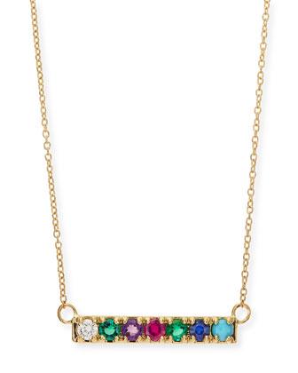 Gold DEAREST Code Word Necklace