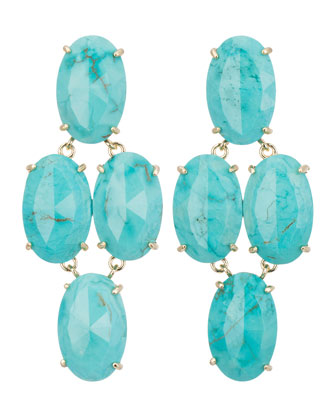 Steph Turquoise Earrings