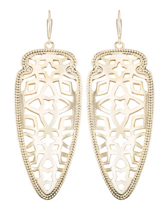 Sadie Gold-Plated Earrings