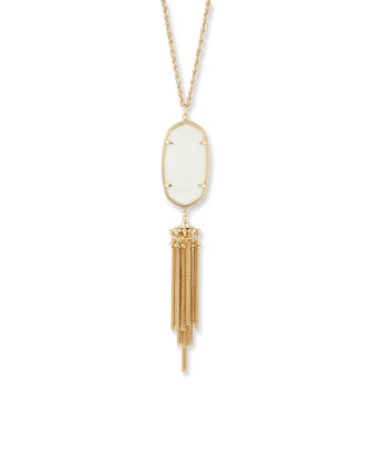 Rayne Pendant Necklace, Mother-of-Pearl