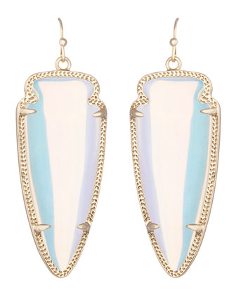 Skylar Earrings, Iridescent
