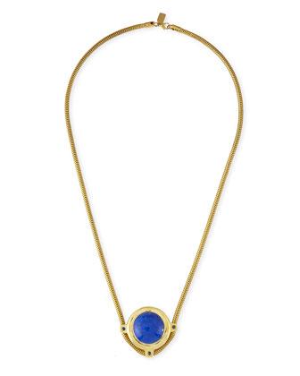 Dasha Blue Lapis & Sapphire Necklace