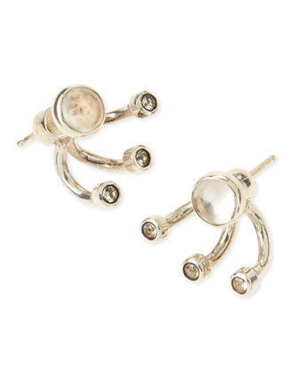 Triple Gravitation Stud Earrings