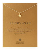 Gold-Dipped Lucky Star Necklace