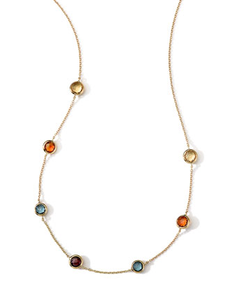18k Gold Rock Candy Mini Gelato Necklace