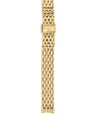 Serein 12mm 18k Gold Plated 7-Link Bracelet