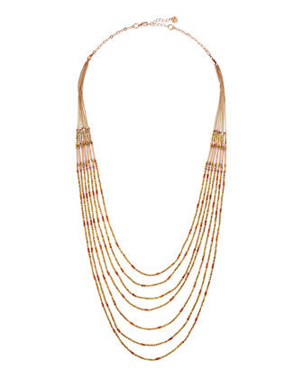 Beaded Graduated-Layer Necklace