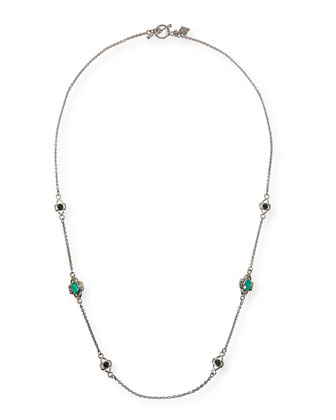 New World Silver Cable Chain Necklace, 20