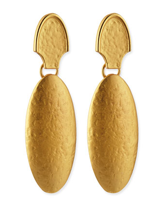 24k Gold Dipped Empire Earrings