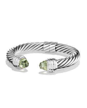 Cable Classics Bracelet with Prasiolite