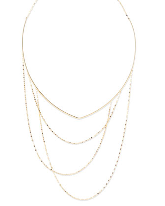 Blake 14k Gold Choker Necklace