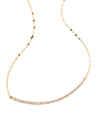Femme Necklace with Diamonds
