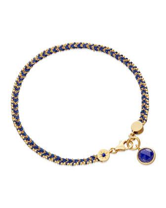 Jean Genie Bracelet with Lapis Charm