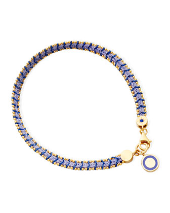 Mood Indigo Bracelet with Cosmos Charm