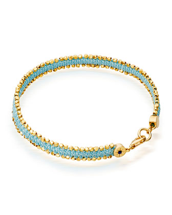 Pale Blue Eyes Nugget Bracelet