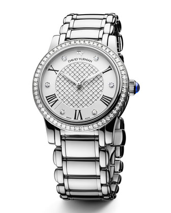 Classic 34mm Quartz with Diamonds