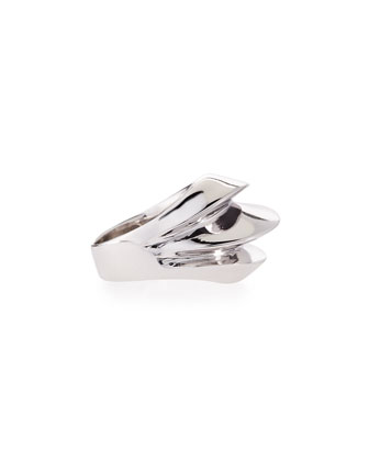 High Shine Ridged Ring