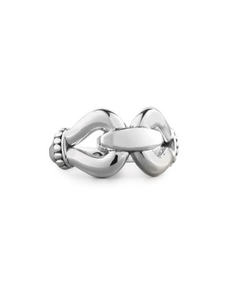 Sterling Silver Derby Buckle Ring
