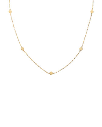 Disc-Station Layering Necklace, 18