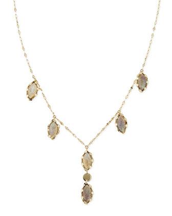 Gypsy Labradorite Necklace, 24