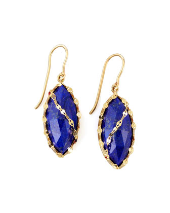Abra Lapis Drop Earrings