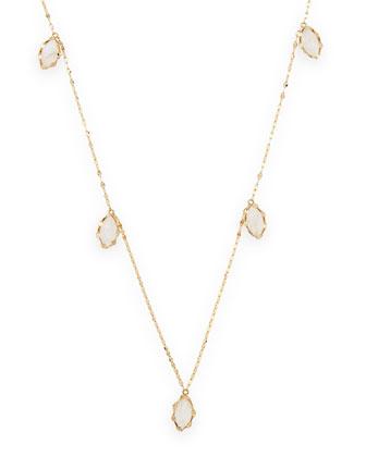 Rainbow Moonstone Spellbound Gypsy Necklace