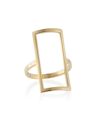 14k Yellow Gold Chime Ring