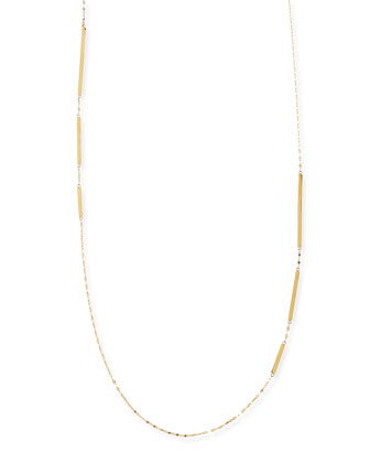 14k Gold Dash Layer Necklace