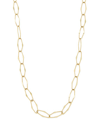 Spellbound 14k Gold Drama Necklace, 36