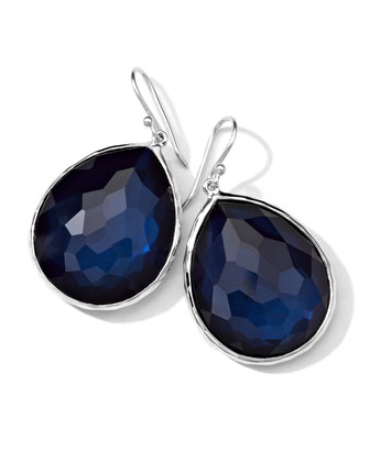 Sterling Silver Wonderland Teardrop Earrings in Burton