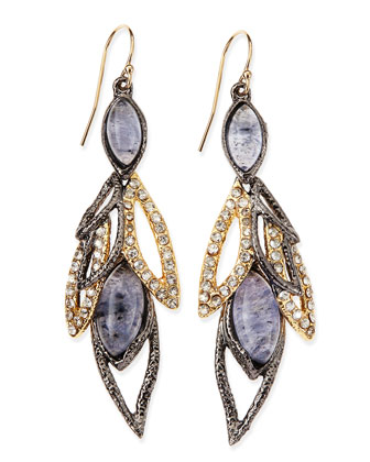 Elements Marquise Multi-Stone Dangle Earrings